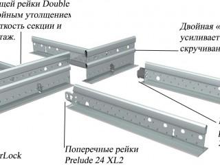 Фотография подвесной системы Prelude Sixty2