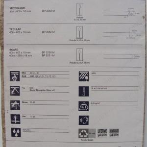 Фотография подвесной плиты Армстронг Дюна Мах